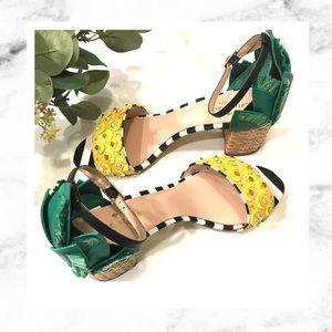 Kate Spade Wiatt Pineapple Heels